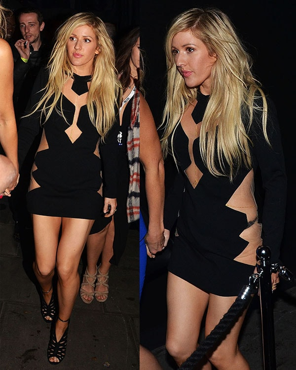 Ellie Goulding BRIT Awards after parties