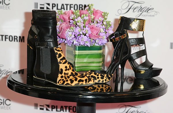Fergie Footwear takes the stage at MAGIC Market Week held at the Las Vegas Convention Center