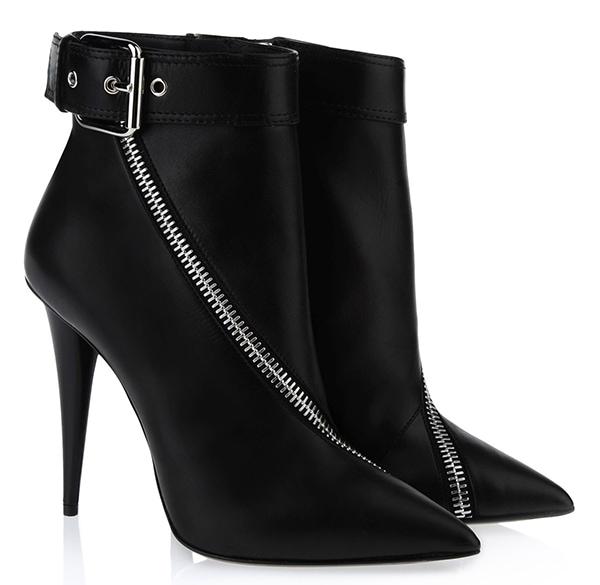 Giuseppe Zanotti Asymmetrical Zip Boots