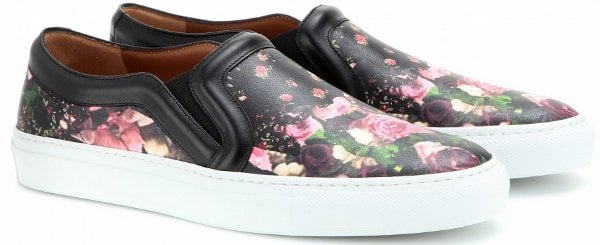 Givenchy Floral Slip-On Sneakers