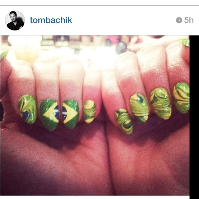 Jennifer Lopez Brazil nails