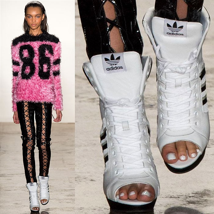 Jeremy Scott Fall 2014 Adidas sneakers