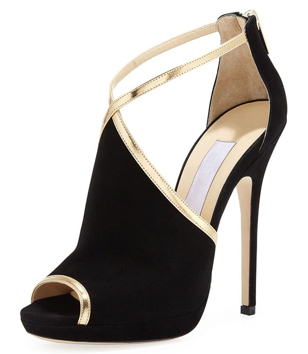 Jimmy Choo Farley Suede Sandals