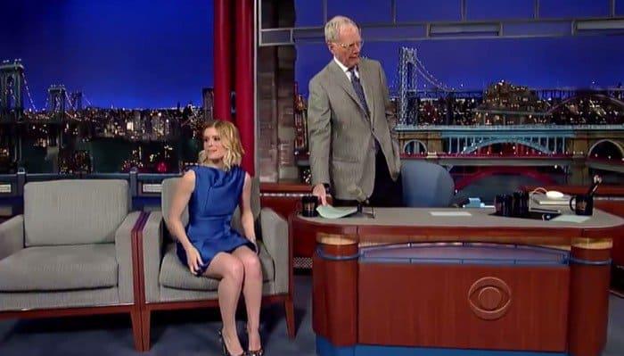 Kate Mara David Letterman