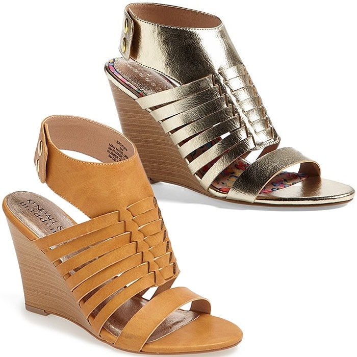 Kendall & Kylie for Madden Girl Backupp Ankle Cuff Sandals