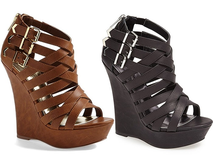 Kendall & Kylie for Madden Girl Fortune Wedge Sandals