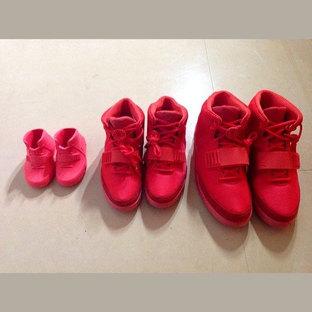 Kim Kardashian family Nike Air Yeezy