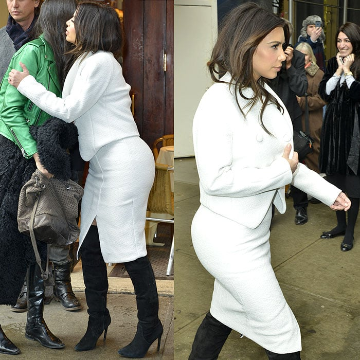 Kim Kardashian out and about in the SoHo neighborhood in Manhattan, New York City, on February 18, 2014