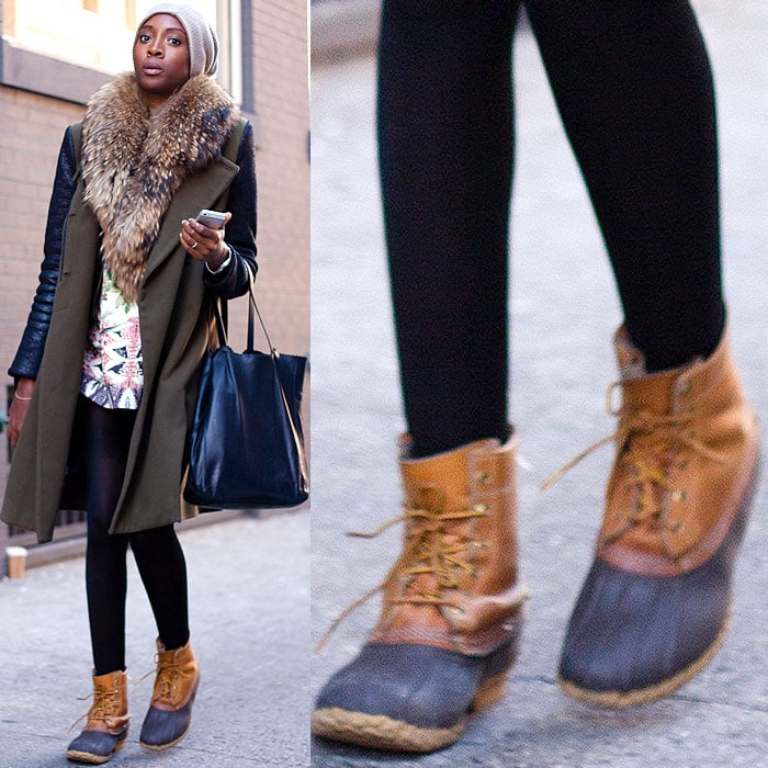 18 Cool Bundled Up Street Style Looks At New York Fashion Week