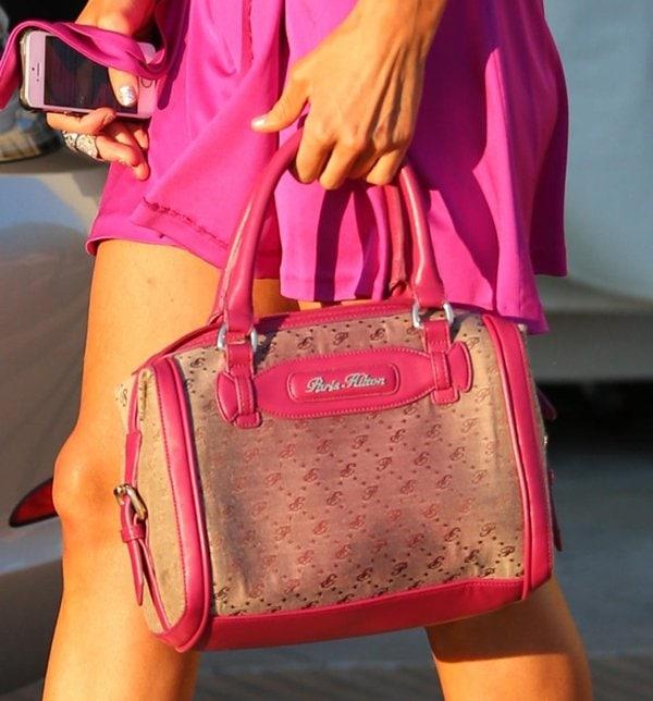 Paris Hilton Barbie Pink6