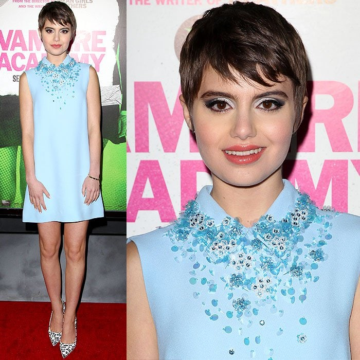 Sami Gayle was a breath of fresh air at the premiere of 'Vampire Academy'