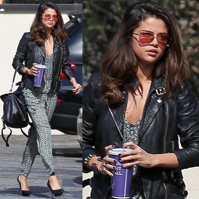 Selena Gomez Zara dOrsay pumps