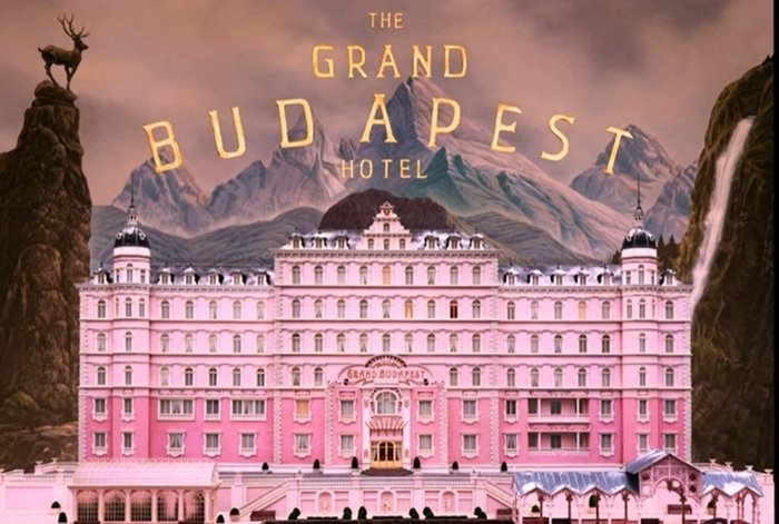 The miniature model of the fictional Grand Budapest Hotel was inspired by Grandhotel Pupp