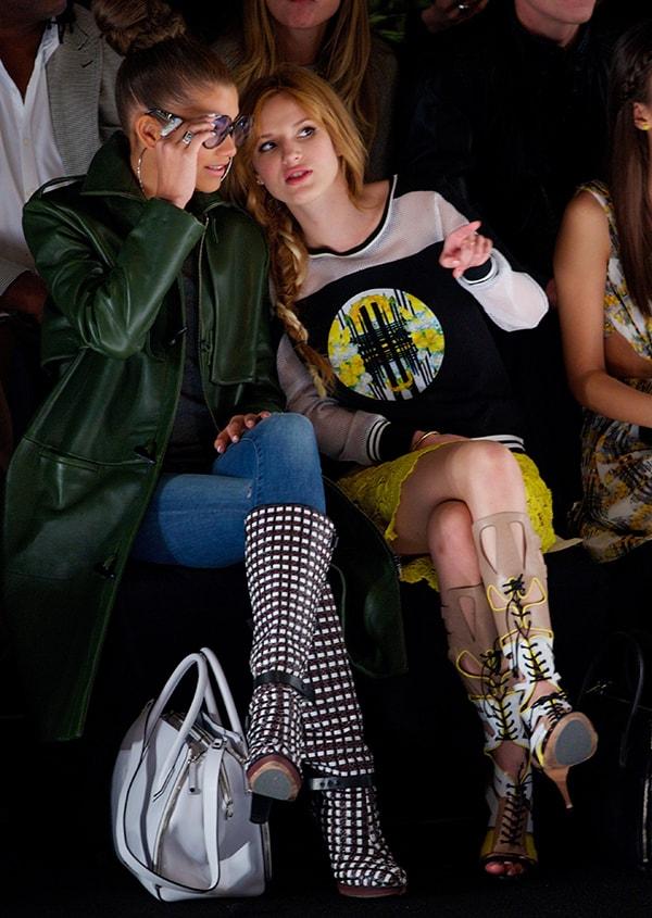 Rebecca Minkoff Fashion Show 2014