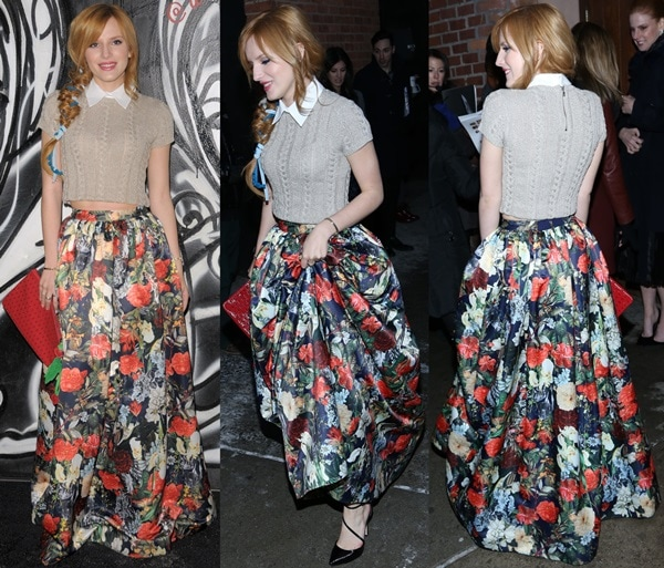 Bella Thorne at the Fall/Winter 2014 presentation of Alice + Olivia