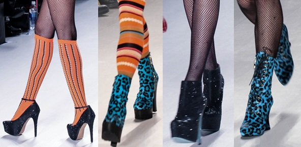 Runway looks from Betsey Johnson's Fall 2014 collection