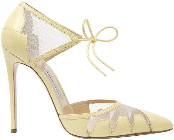 "Bionda Castana ""Lana"" Pumps in Lemon Yellow"