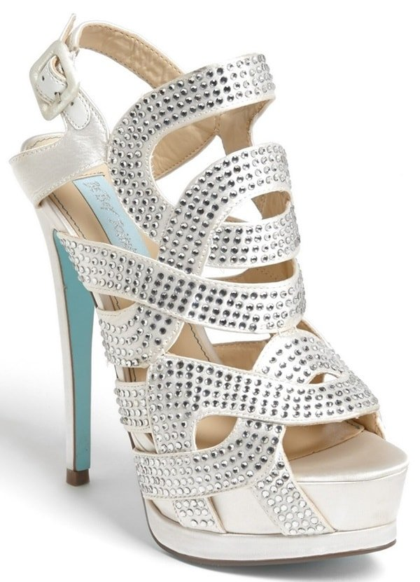 Blue by Betsey Johnson 'Love' Sandals