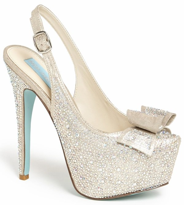 Blue by Betsey Johnson 'Toast' Pumps
