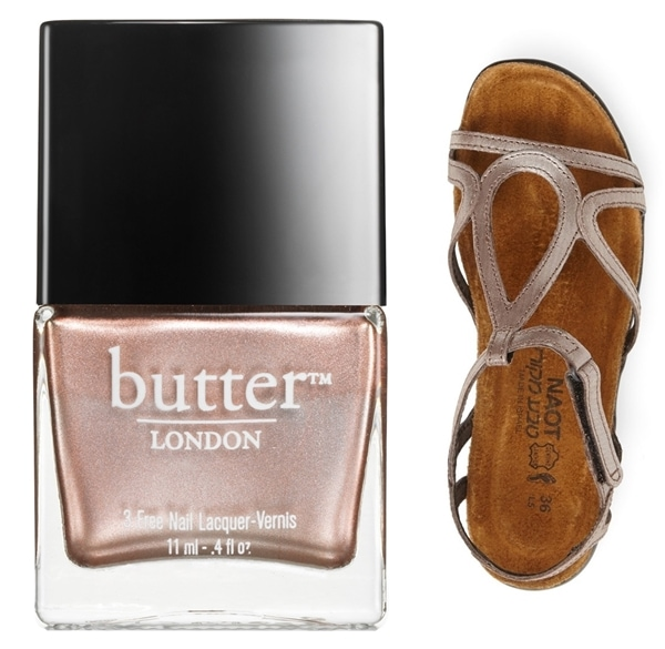 Naot 'Dorith' Sandal and Butter London Goss