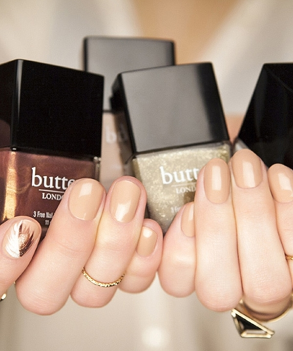 "Butter London's ""Boho Rock"" nail lacquer set"