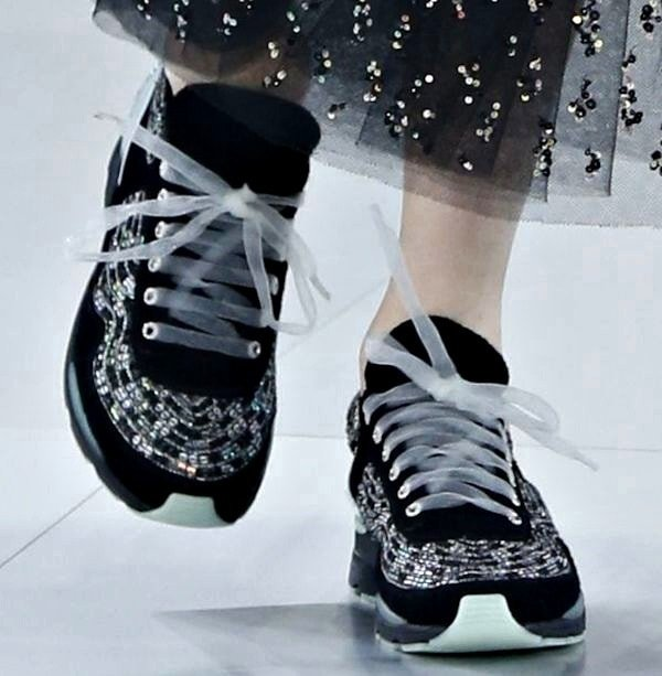 A sneak peek at the shoes designed for Chanel's spring/summer 2014 haute couture collection