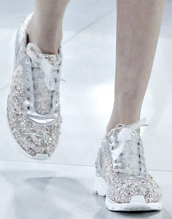 Chanel Spring/Summer 2014 Haute Couture Sneakers