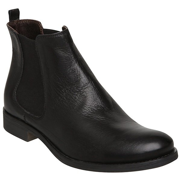 dune leather ankle boots