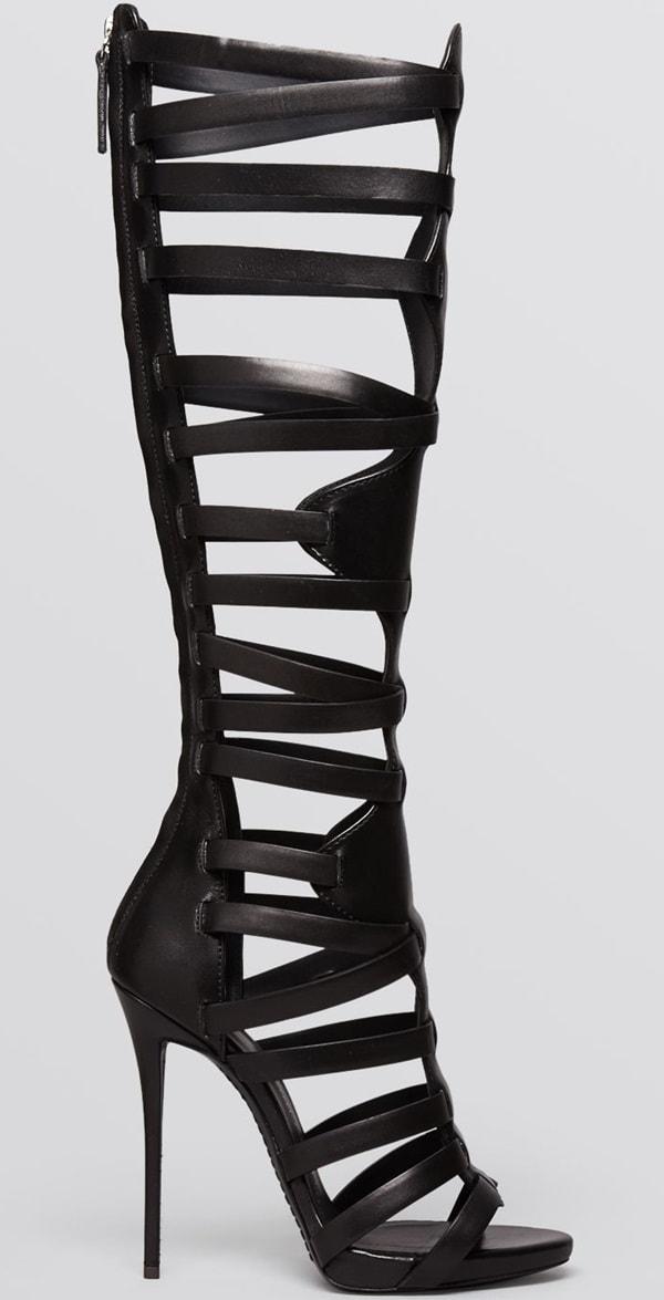 "Giuseppe Zanotti ""Coline"" Knee-High Gladiator Sandals"