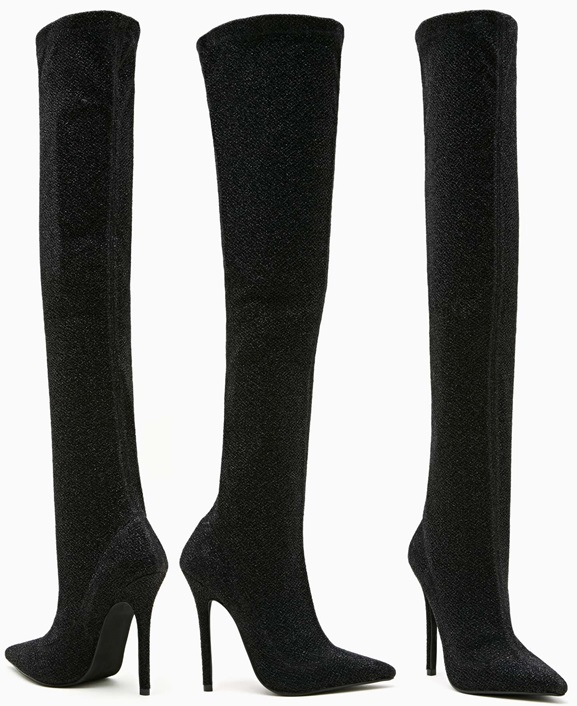 Kinki Thigh-High Boots