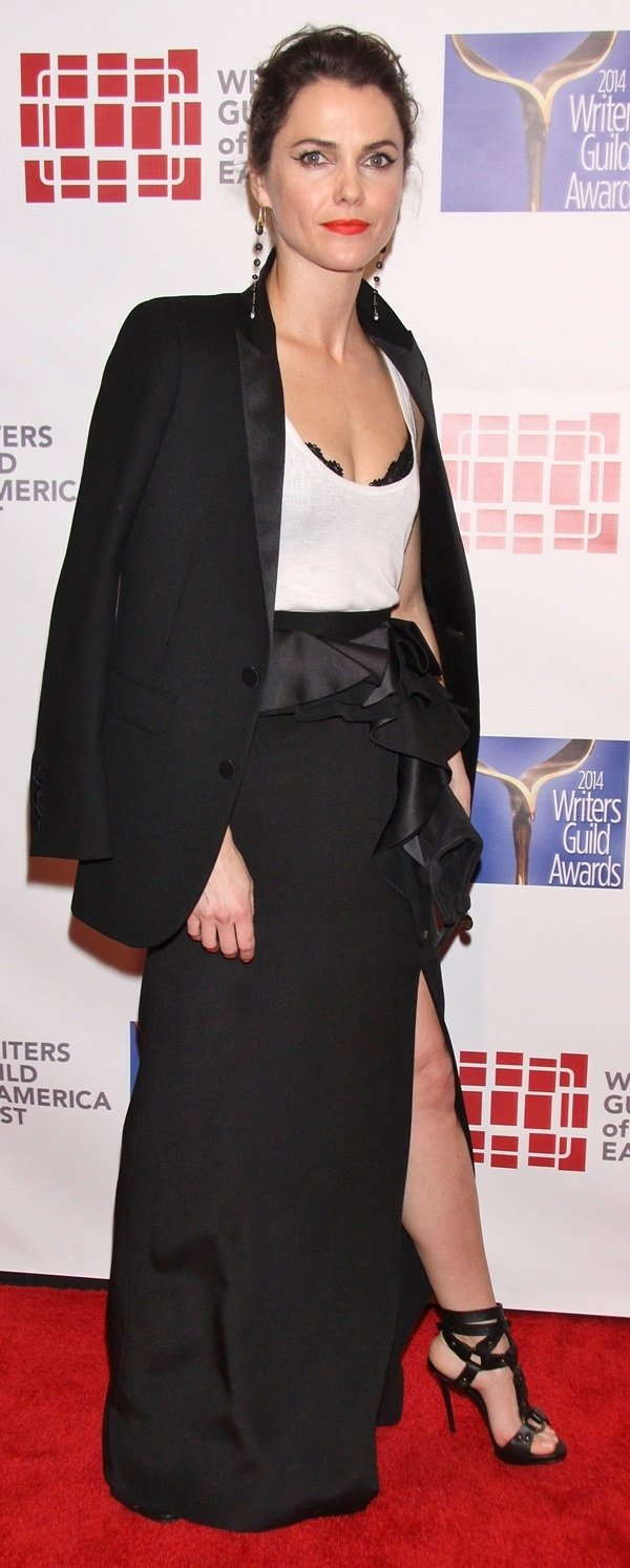 Keri Russell at the 66th Annual Writer's Guild Awards