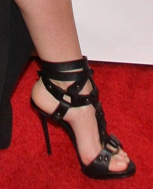 Keri Russell'sbad-ass Giuseppe Zanotti sandals