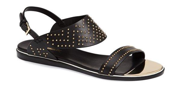 Nicholas Kirkwood Studded Flat Sandal