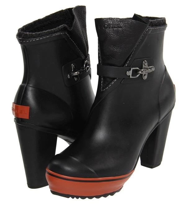Sorel Medina Rain Ankle Boots
