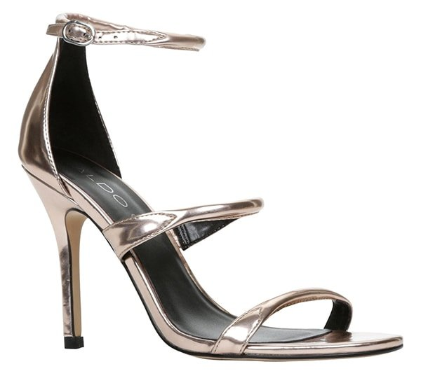 "Aldo ""Margetts"" Sandals in Metallic Gold"