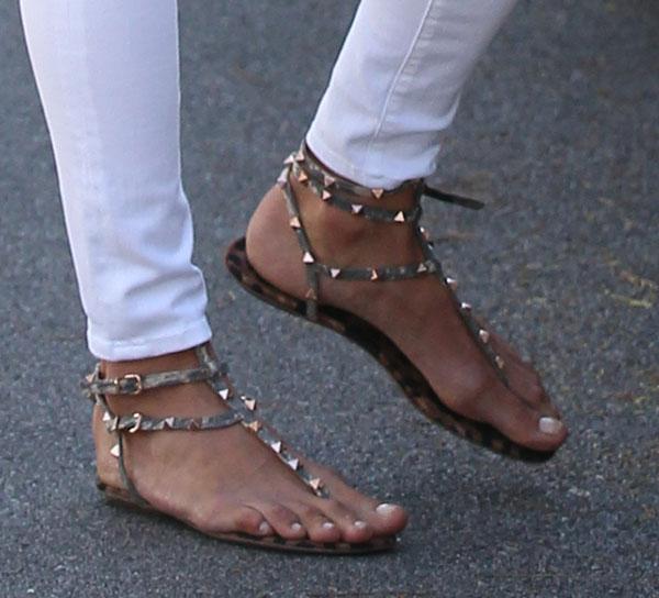 Valentino Shoes White Flat