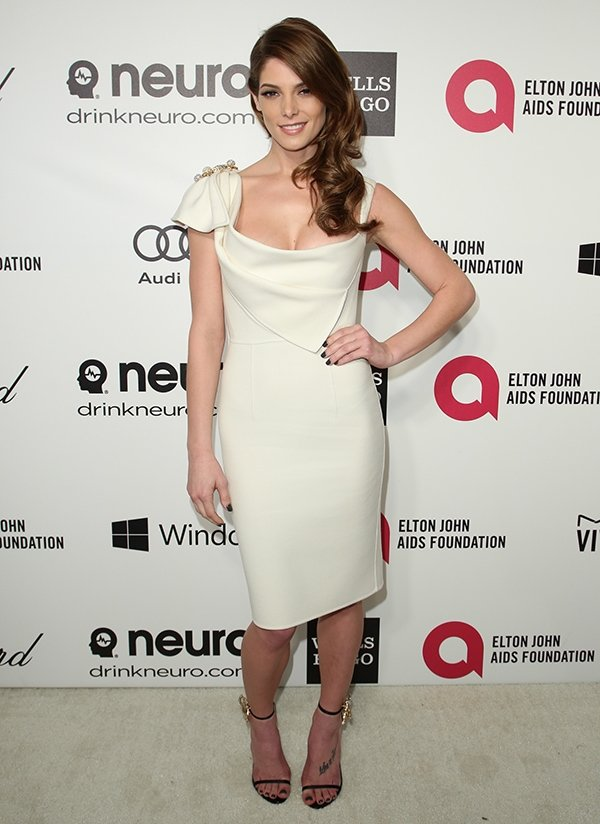 Ashley Greene at the22nd Annual Elton John AIDS Foundation Academy Awards viewing/after-party in West Hollywood on March 2, 2014