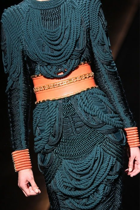 Balmain Fall 2014 detail 2