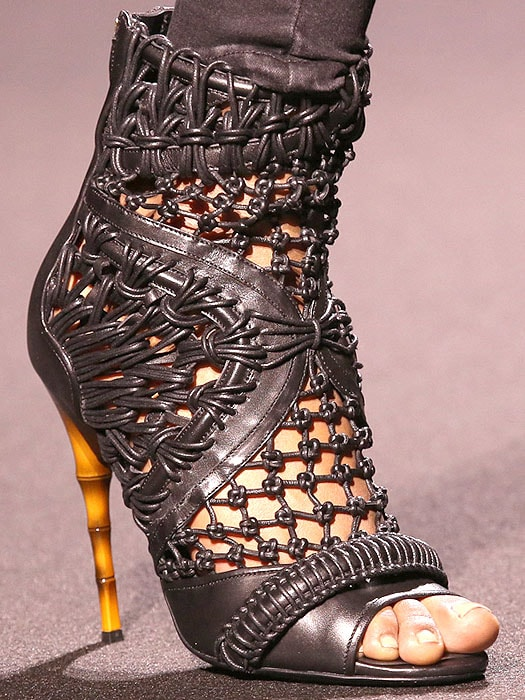 Balmain Fall 2014 shoes 2