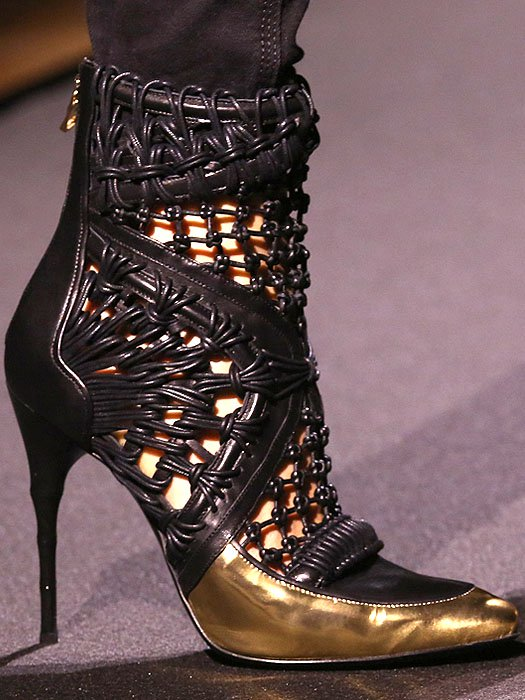 Balmain Fall 2014 shoes