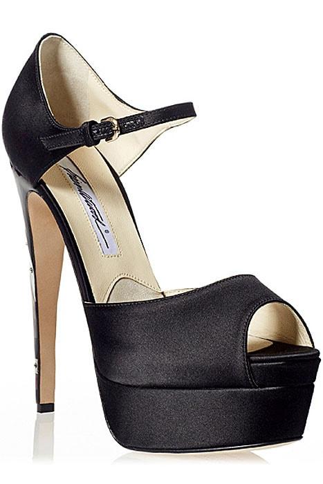 "Brian Atwood ""Tribeca"" Platform Sandals"