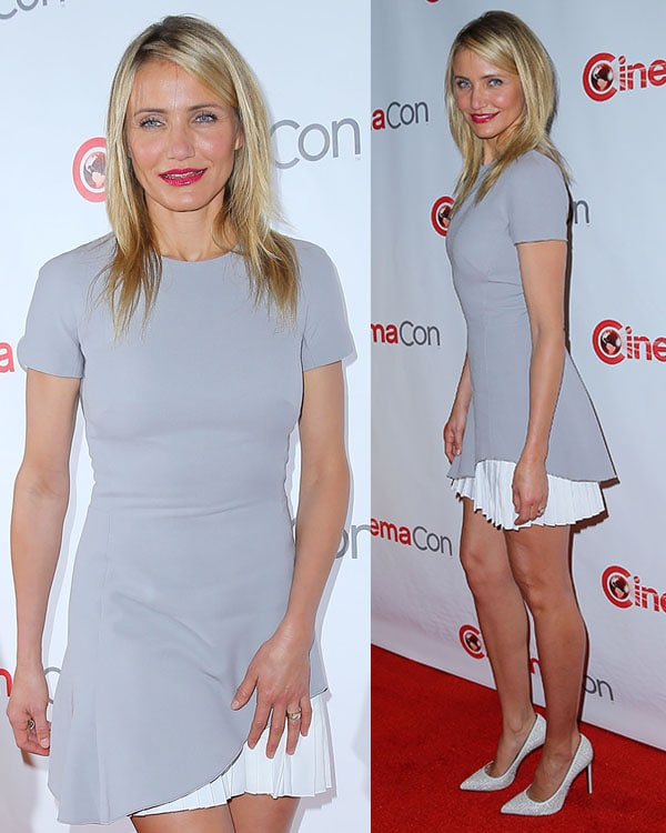 Cameron Diaz CinemaCon 2014 20th Century Fox Red Carpet