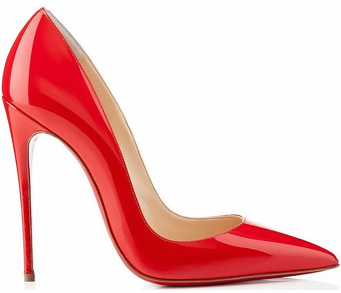 Christian Louboutin So Kate red