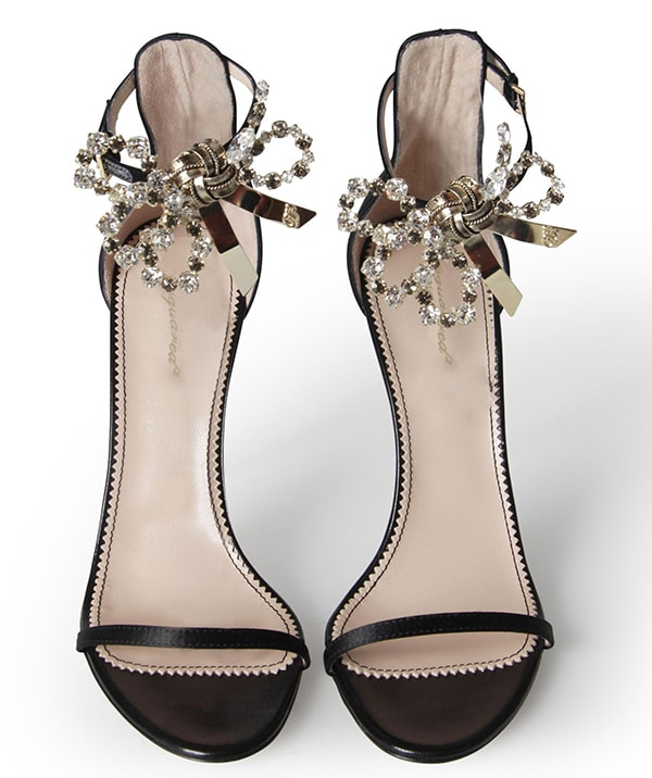 DSquared Crystal Bow Sandals
