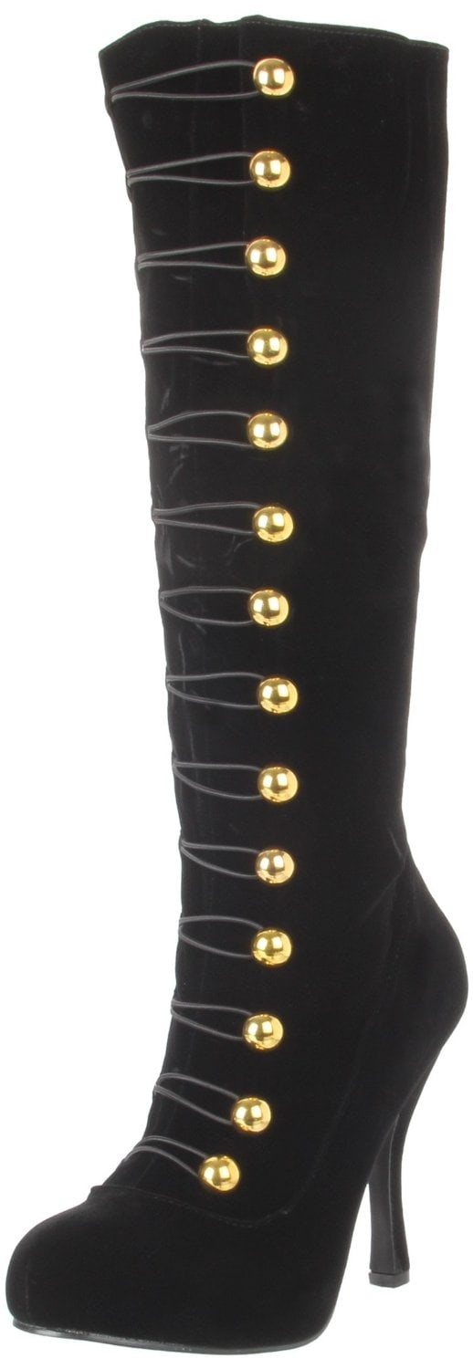 Funtasma by Pleaser Ringmaster Buttoned Boots