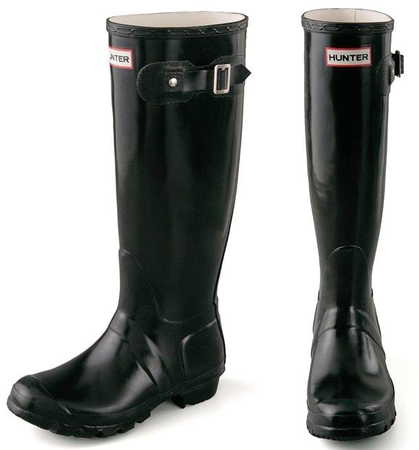 Hunter Boots Original Wellington Rain Boots Black3