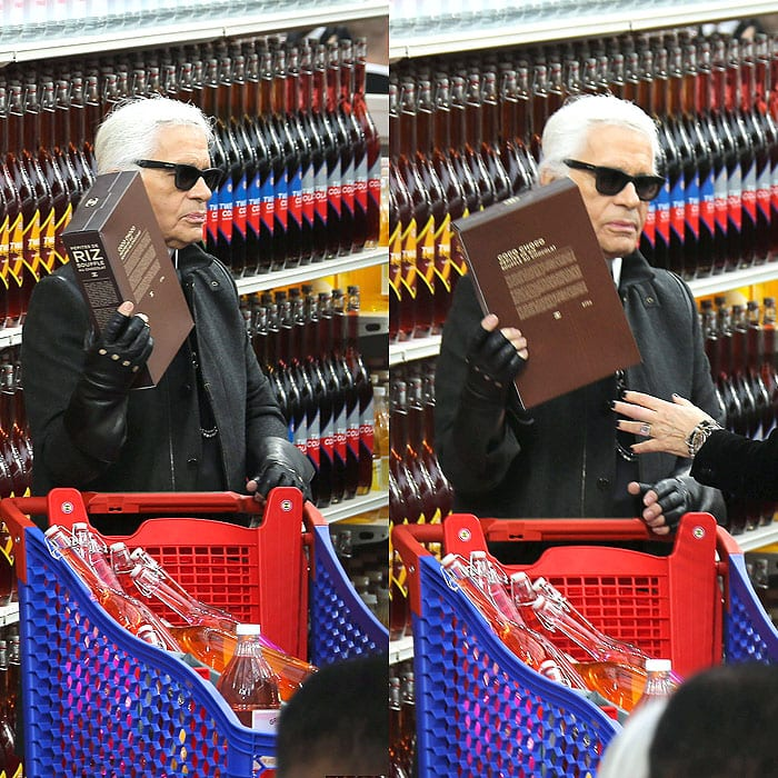 Karl Lagerfeld Chanel supermarket