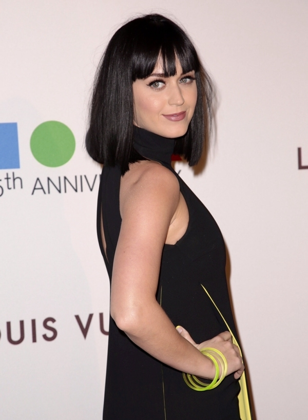 Katy Perry at MOCA's 35th Anniversary Gala presented by Louis Vuitton held at The Geffen Contemporary at MOCA in Los Angeles on March 29, 2014