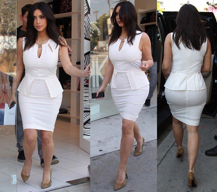 Kim Kardashian looked like a stuffed sausage