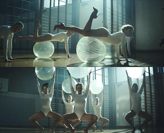Kylie Minogue Sexercize video 1